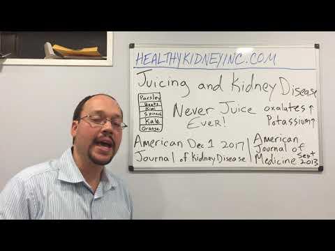 juicing kidneys