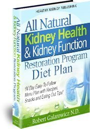 kidney diet plan