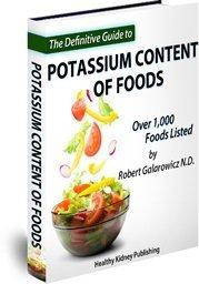 kidney diet potassium content