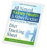 kidney diet tracking sheets