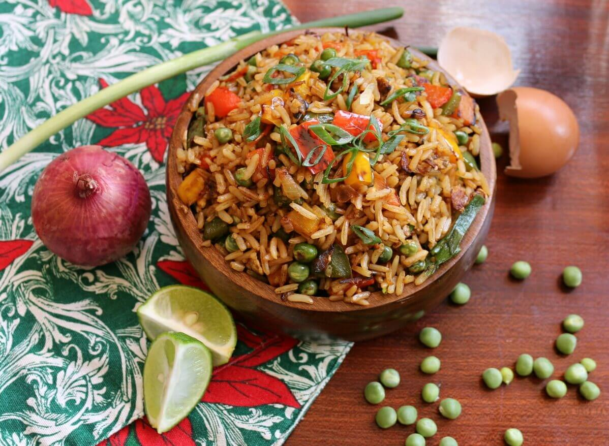 One Of Our Favorite Kidney Friendly Recipes, Vegetable Fried Rice!