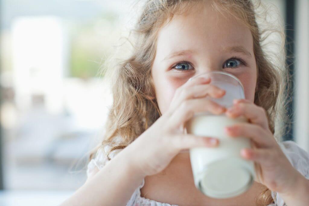 milk children kidney disease