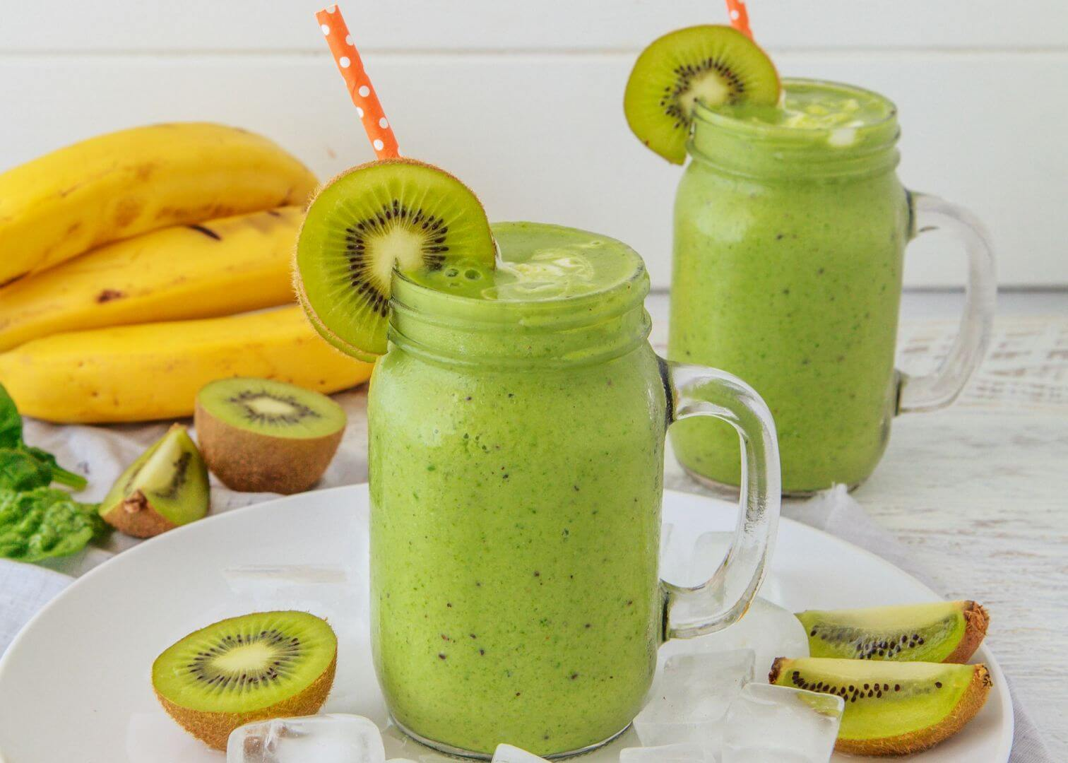 Try This Banana and Kiwi Fiber Smoothie For Kidney Health And Lower Creatinine